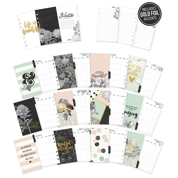 Beautiful | personal monthly inserts
