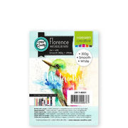 A6 Watercolor paper Smooth White 300 g