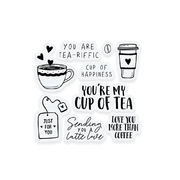 Tea and coffee | clearstamp