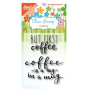 Coffee is a hug | Joy! Crafts clear stamps