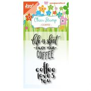 Coffee | Joy! Crafts clear stamps