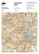 Historical Maps | A5 note pad