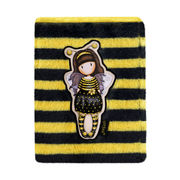 Gorjuss Furry Notebook Bee-Loved (Just Bee-Cause)