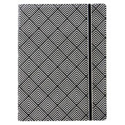 Filofax A5 Black & white deco