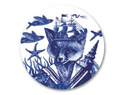 Cobaltic Sea - Sailor Fox Coaster