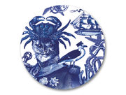 Cobaltic Sea - Captain Cat Coaster
