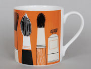 Gallery Mug Brushes Orange