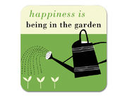 Happiness Gardening Coaster Green