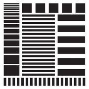 Stripes | Template 6x6""