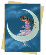 Moon Maiden Greeting Card
