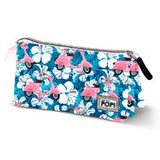 Oh My Pop Scooter triple pencil case