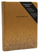 Shine Bright Productivity Journal Gold