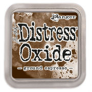 Ground espresso | Distress Oxide | Ranger