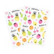 Fruity stickers