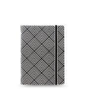 Filofax pocket notebook | Black & white deco