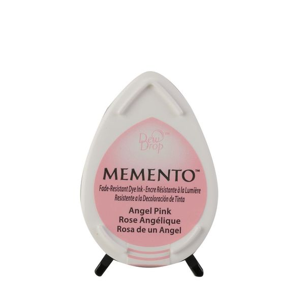Memento dew drop dye ink | Angel pink