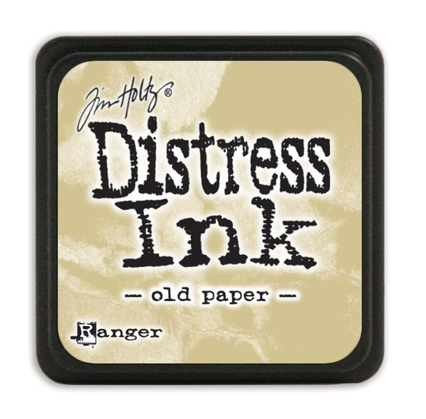 Old paper | Ranger Tim Holtz distress mini ink