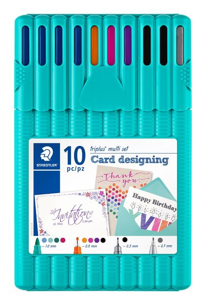 Card | Staedtler triplus multi set