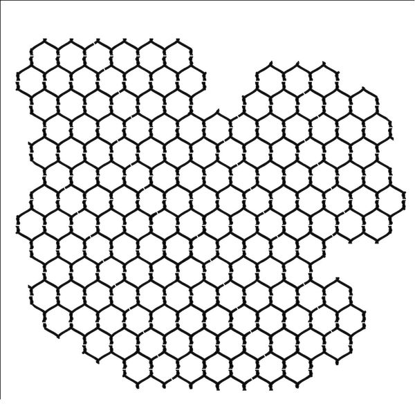 Chickenwire | Template 6x6""