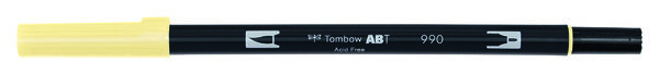 Light Sand ABT-990 Tombow dual brush