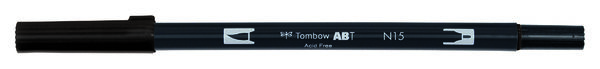 Black ABT-N15 Tombow dual brush