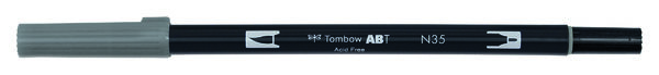 Cool grey 12 ABT-N35 Tombow dual brush