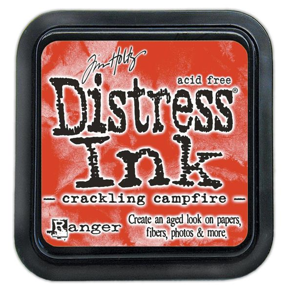 Crackling campfire | Ranger Tim Holtz distress ink