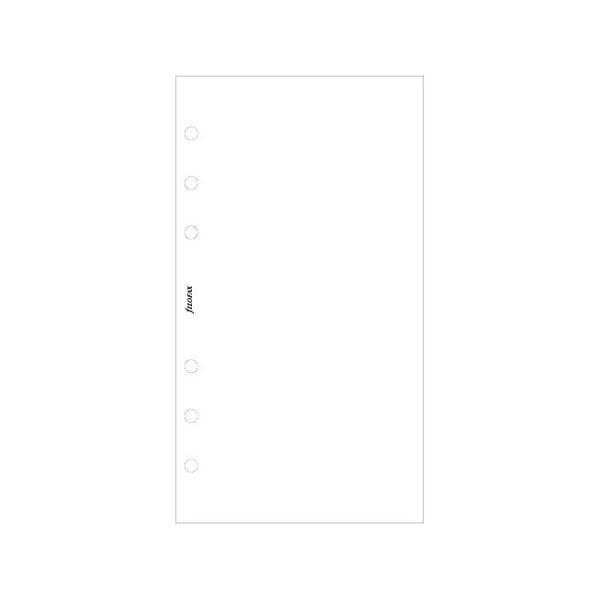 Personal white plain notepaper