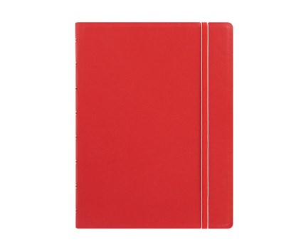 Filofax A5 notebook red