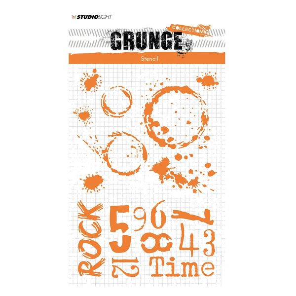 A5 Grunge collection nr. 11 | mask stencil