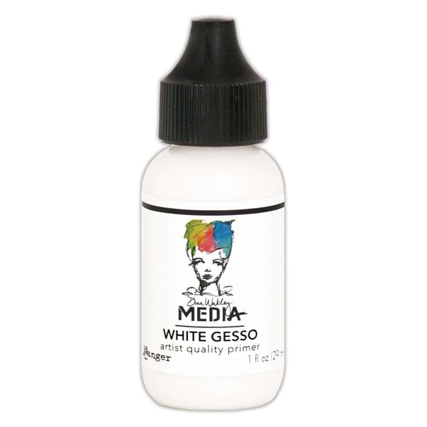 Ranger Dina Wakley media gesso white 1oz.