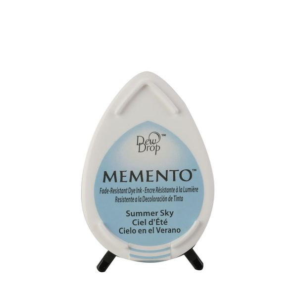 Memento dew drop dye ink | Summer sky