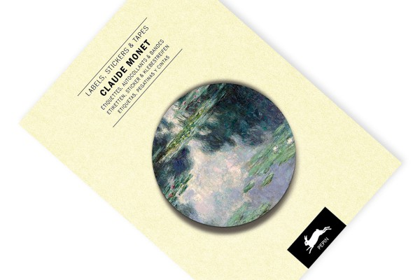 Claude Monet | Label & sticker books