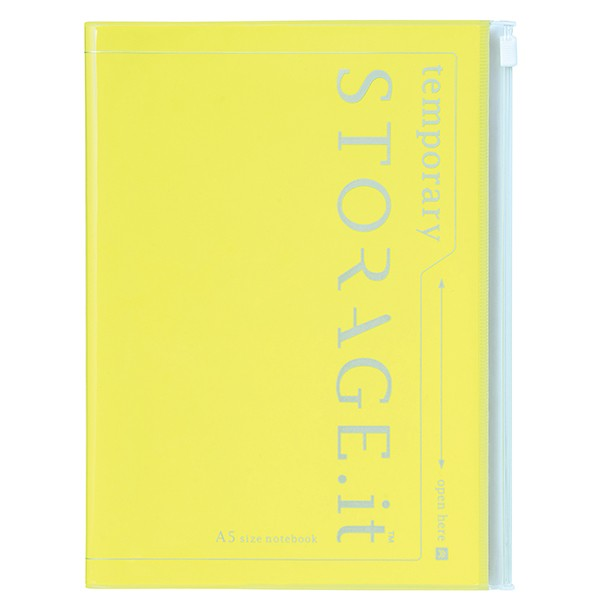 A5 Storage.it Neon yellow