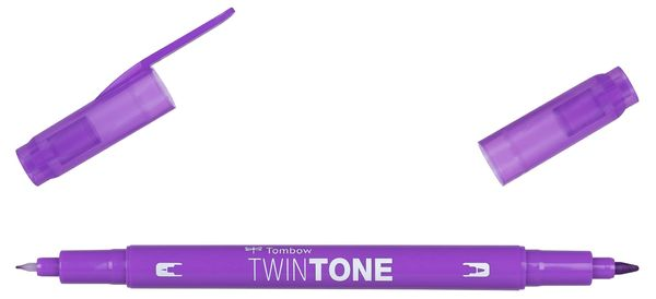Violet 19 | Tombow twintone dual-tip markers