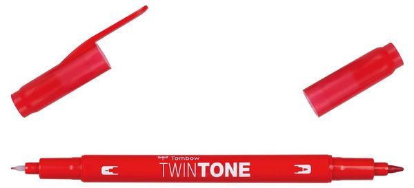 Red 25 | Tombow twintone dual-tip markers