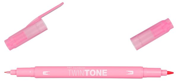 Pale rose  58 | Tombow twintone dual-tip markers