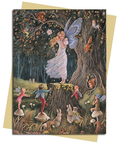 The Queen of the Fairies Greeting Card