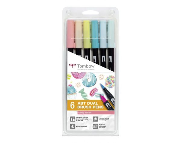 Candy | Tombow dual brush (6)