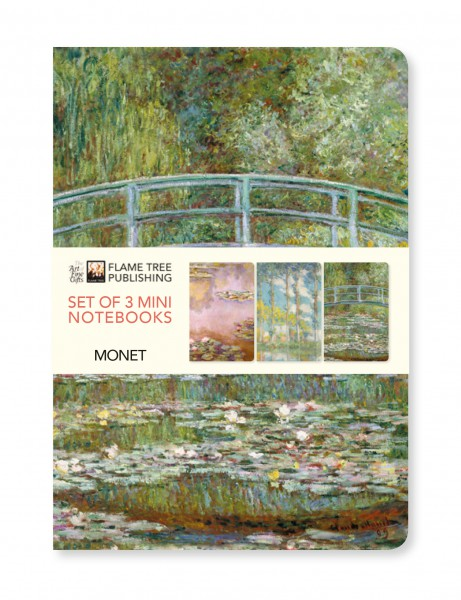Claude Monet Mini Notebook Collection