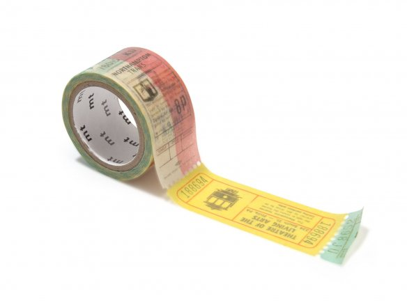 Fab ticket | washi | mt