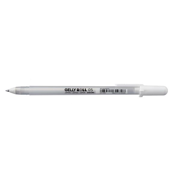 Gelly Roll 05 White Gel Pen