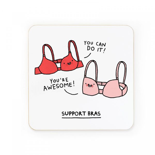 Support bras | coaster