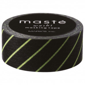 Black Stripe | masté | washi