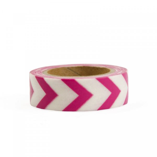 Pink chevron | washi