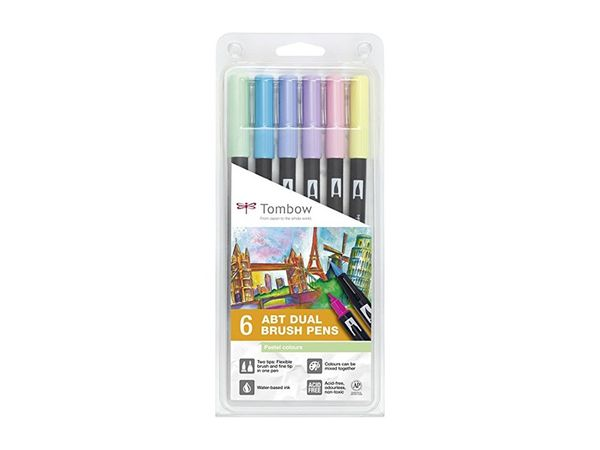 Pastel | Tombow dual brush (6)
