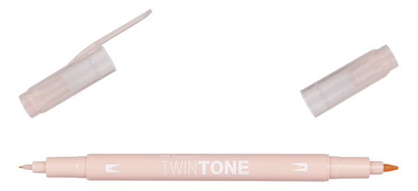 Coral pink 78 | Tombow twintone dual-tip markers